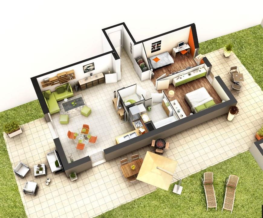 casa nuova 3d